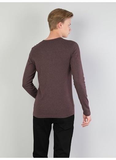 Colin's V Yaka T-Shirt Mor